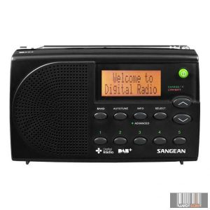 Sangean DPR-65 BASIC BLACK DAB+ / FM-RDS hordozható digitális rádióvevő