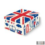 LAVATELLI 660LO COLLECTON LONDON színes tárolódoboz (50x39x24)