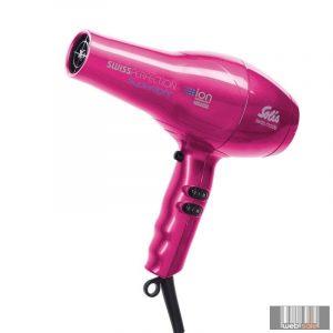 Solis Swiss Perfection Superlight - professzionális hajszárító (a legkönnyebb Solis) 968.93 (pink)