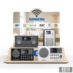Sangean WiFi display internetrádiók számára