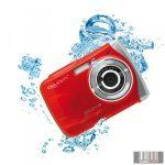 Easypix W1024R Splash vízálló digitális fényképezőgép (piros)