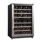 Domo DO918WK 45 palackos pult alá helyezhető kétzónás borhűtő