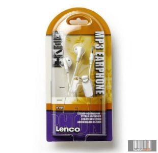 Lenco EP-004 Sztereó fülhallgató (fehér)