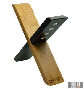Powerplus Sphynx napelemes bambusz lámpa 4 LED-del