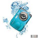 Easypix W1024B Splash vízálló digitális fényképezőgép (kék)