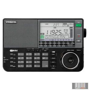Sangean ATS-909X B FM-Sztereó / MW / LW / SW szintézeres világvevő (fekete)