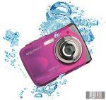 Easypix W1024P Splash vízálló digitális fényképezőgép (pink)