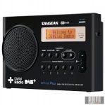 Sangean DPR-69+ B FM-RDS hordozható táskarádió (fekete)