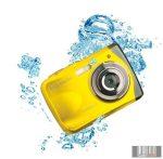 Easypix W1024Y Splash vízálló digitális fényképezőgép (sárga)