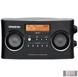 Sangean PR-D5 PACKAGE (B) Sztereó AM/FM-RDS szintéreres táskarádió (fekete)