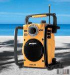 Sangean U-1 AM / FM sztereó Utility munka és szabadidő rádió