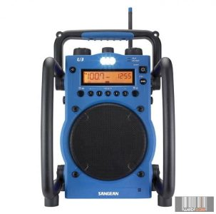 Sangean U-3 AM / FM sztereó szintézeres Utility munka és szabadidő rádió