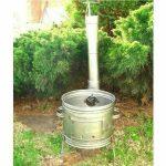Perfect Home 10446 Inox parti üstház 31cm + kémény + könyök