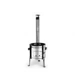 Perfect Home 10447 Inox parti üstház 36cm + kémény + könyök