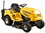 Riwall RLT 92 T Fűnyíró traktor 92 cm, fűgyűjtővel és 6-fokozatú Transmatic váltóval