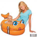 Baby felfújható állatfigurás fürdetőkád
