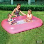Aquababy szögletes medence 165x104x25 cm