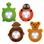 HOME KIDS LED-es gyermek elemlámpa, 10db/display GL-KID