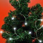 Home LED-es mini fényfüzér, 30 hidegfehér LED MLC-30-WH