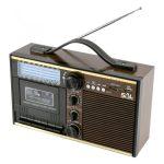 SAL Retro kazettás rádió, MP3, 11 sávos RRT-11B
