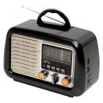 SAL Retro táskarádió, MP3-BT, 3 sávos RRT-2B