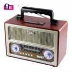 SAL Retro táskarádió, MP3-BT, 3 sávos RRT-3B