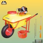 Talicskás permetező, benzinmotoros, Agrimotor TPB 256