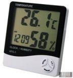 Páratartalom-mérő, hőmérő