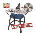 Scheppach HS 100 S Special edition 5901310905 asztali körfűrész + fűrészlap 48 f.