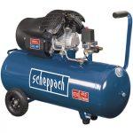 Scheppach HC 120 dc kéthengeres olajkenésű kompresszor, 10 bar, 100 l 5906120905