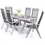 Creador kerti bútor készlet, asztal + 6 szék Rumulus6