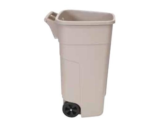Image of 100 literes műanyag hulladéktároló fedél nélkül 4417
