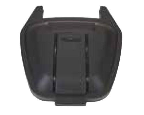 Image of 100 literes műanyag hulladéktároló fedél, fekete 4995