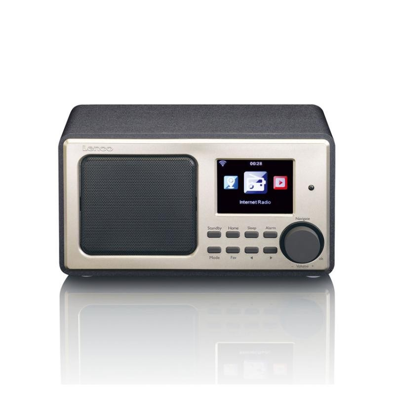 Image of Lenco DIR-110BK Internet - FM rádió USB lejátszással (fekete)