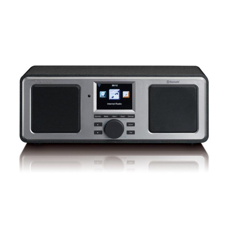 Image of Lenco DIR-150BK Internetrádió - FM radió - Bluetooth (fekete)
